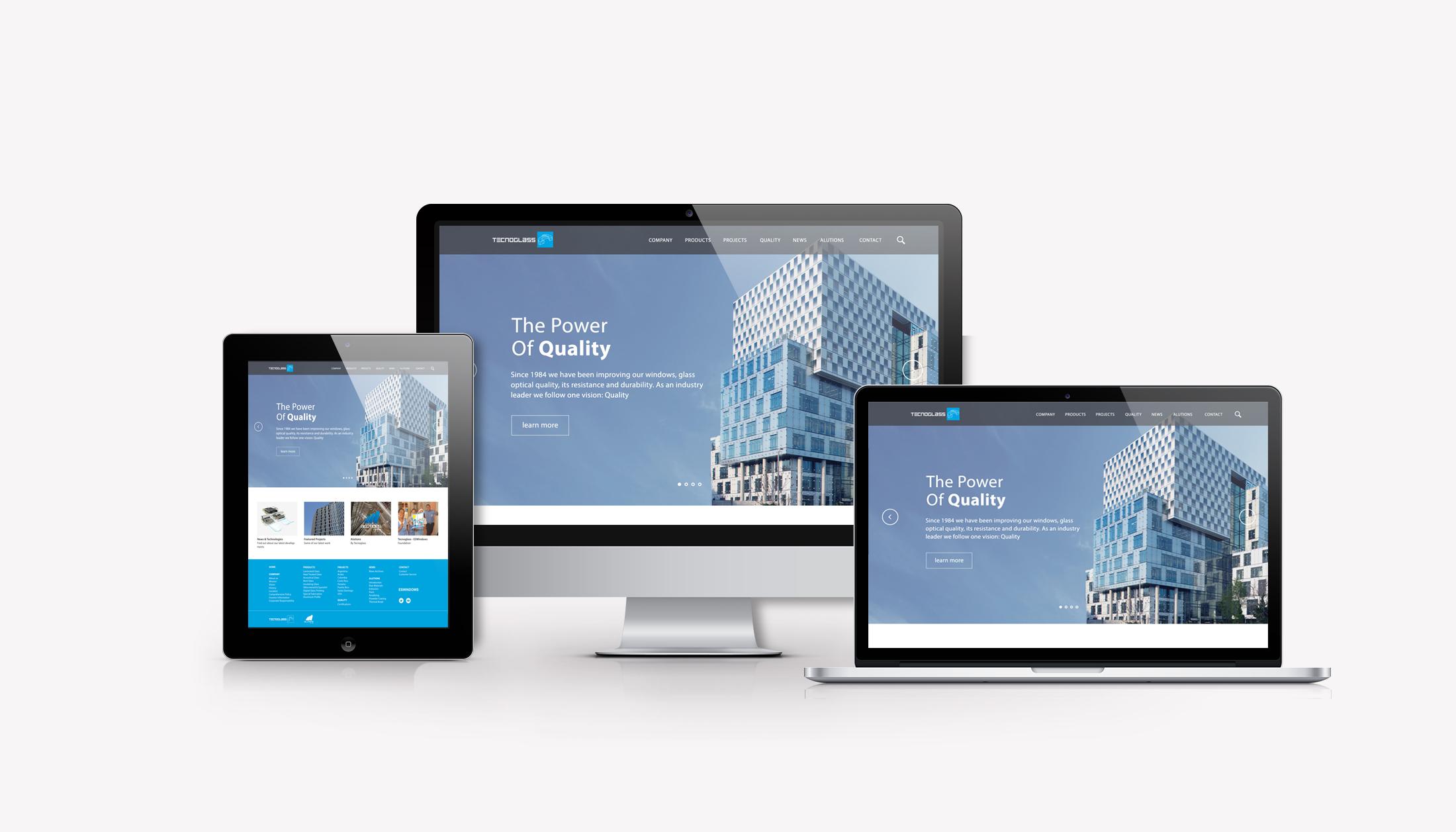 Digital skyline. Tecnoglass. Plvral Advertising and Marketing, Miami.