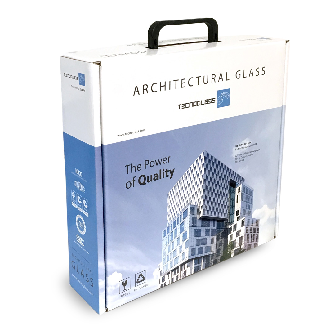Quality in a box. Tecnoglass. Plvral Advertising and Marketing, Miami.